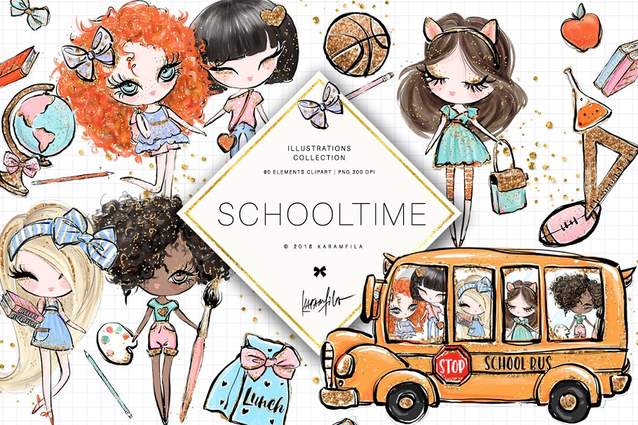 Back to school photo clipart transparent stock Back to School Clipart transparent stock