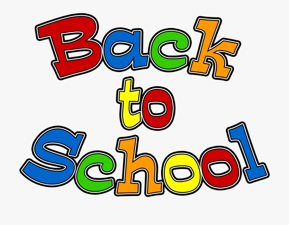 Back to school photo clipart svg library download Back To School Clipart - Welcome Back To School Words #15009 - Free ... svg library download