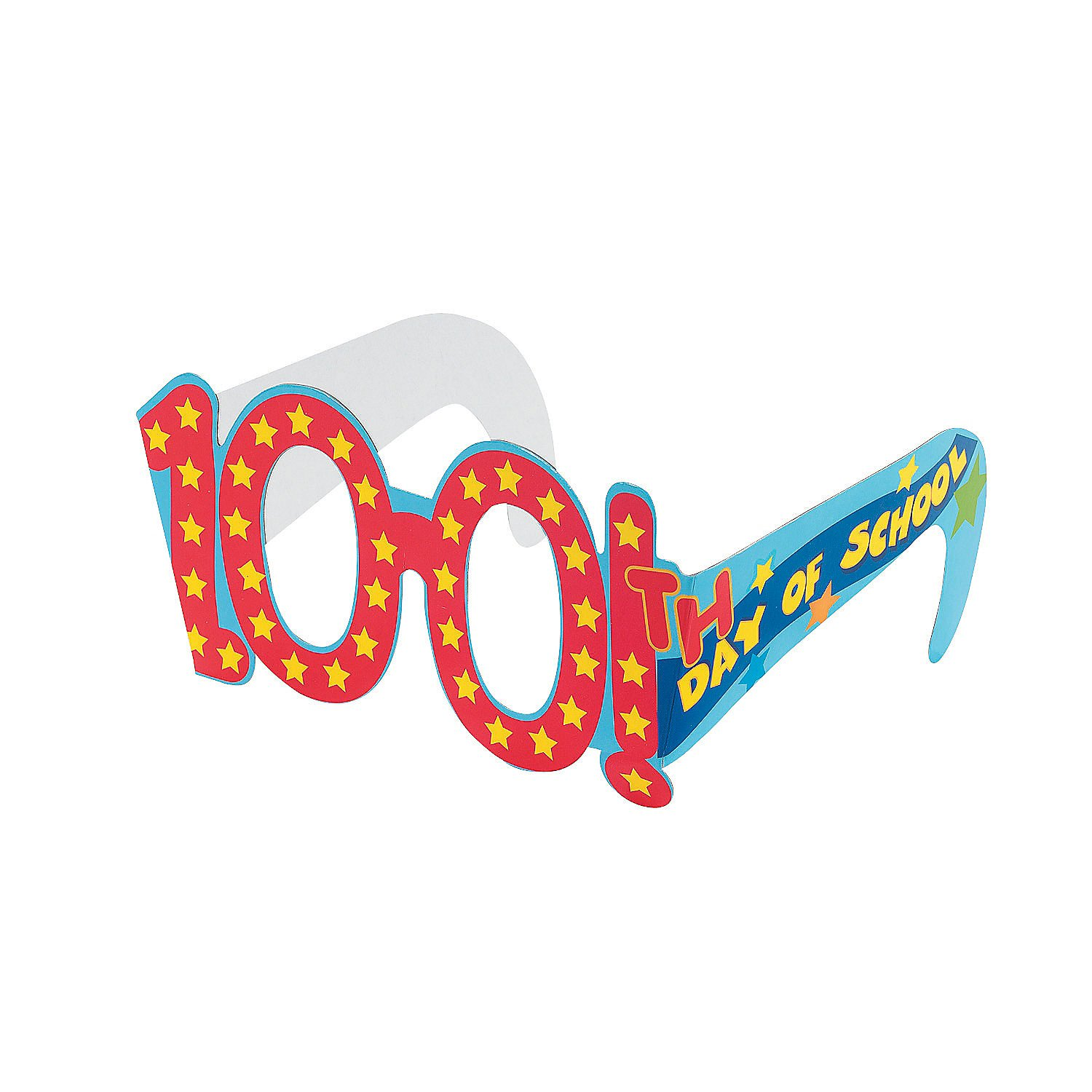 Amazon.com: 100th Day of School Cardboard Glasses: Health & Personal ... banner library