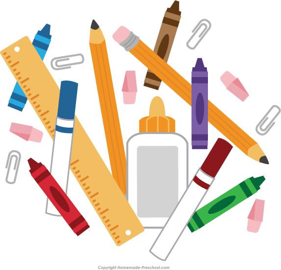 School supplies border clipart png free stock School Supplies Clipart at GetDrawings.com | Free for personal use ... png free stock