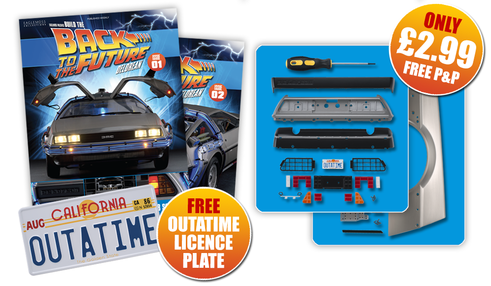 Back to the future car clipart png transparent BUILD THE BACK TO THE FUTURE DELOREAN png transparent