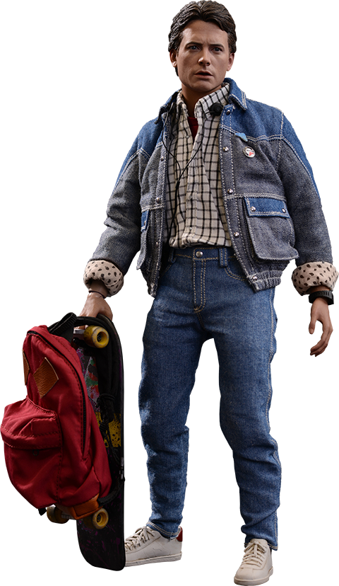 Back to the future car clipart clip royalty free Back to the Future Marty McFly Sixth Scale Figure by Hot Toy ... clip royalty free