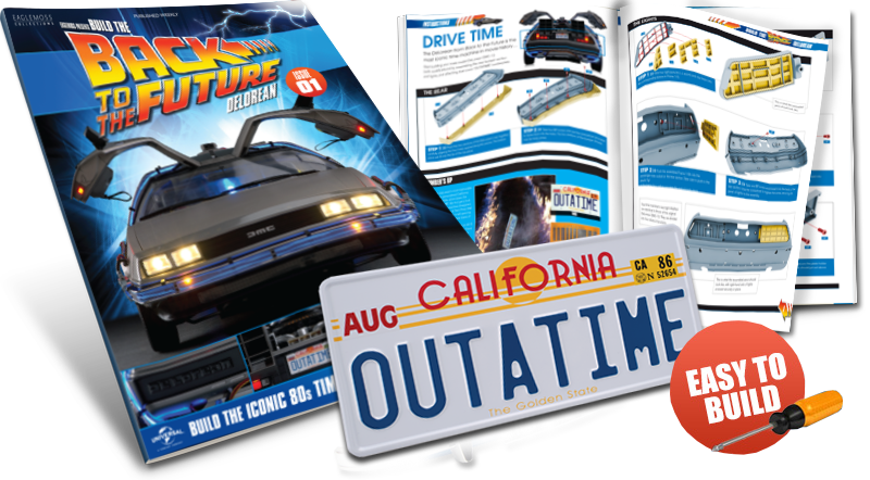 Back to the future car clipart clipart library stock BUILD THE BACK TO THE FUTURE DELOREAN clipart library stock
