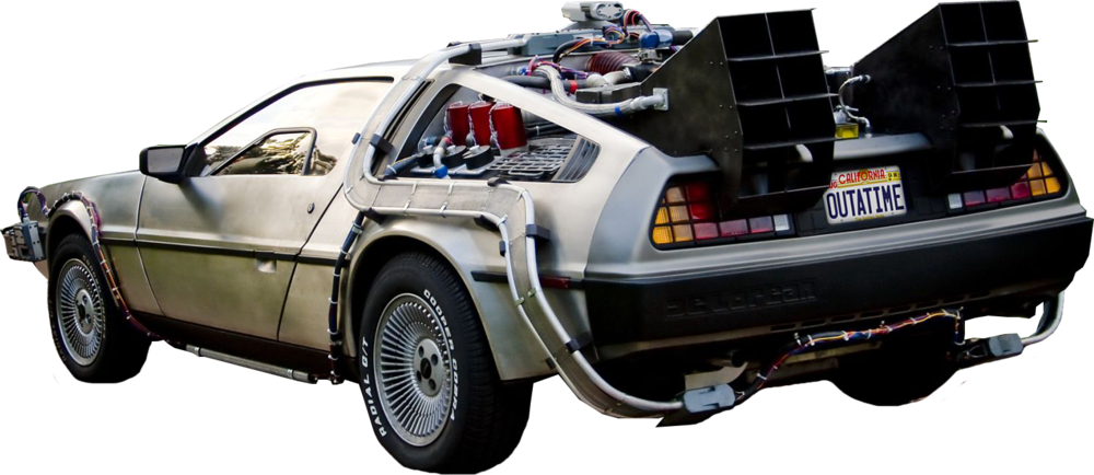 Back to the future car clipart picture transparent Back To The Future PNG Transparent Back To The Future.PNG Images ... picture transparent