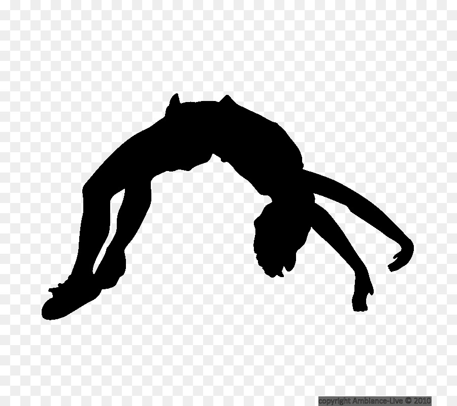 Free Back Handspring Silhouette, Download Free Clip Art, Free Clip ... banner library