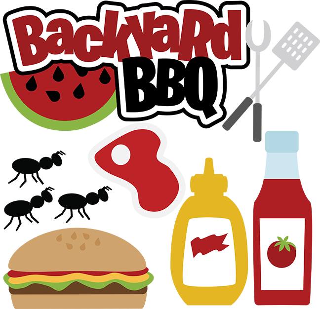 Fruit Cartoon clipart - Barbecue, Food, transparent clip art banner royalty free stock