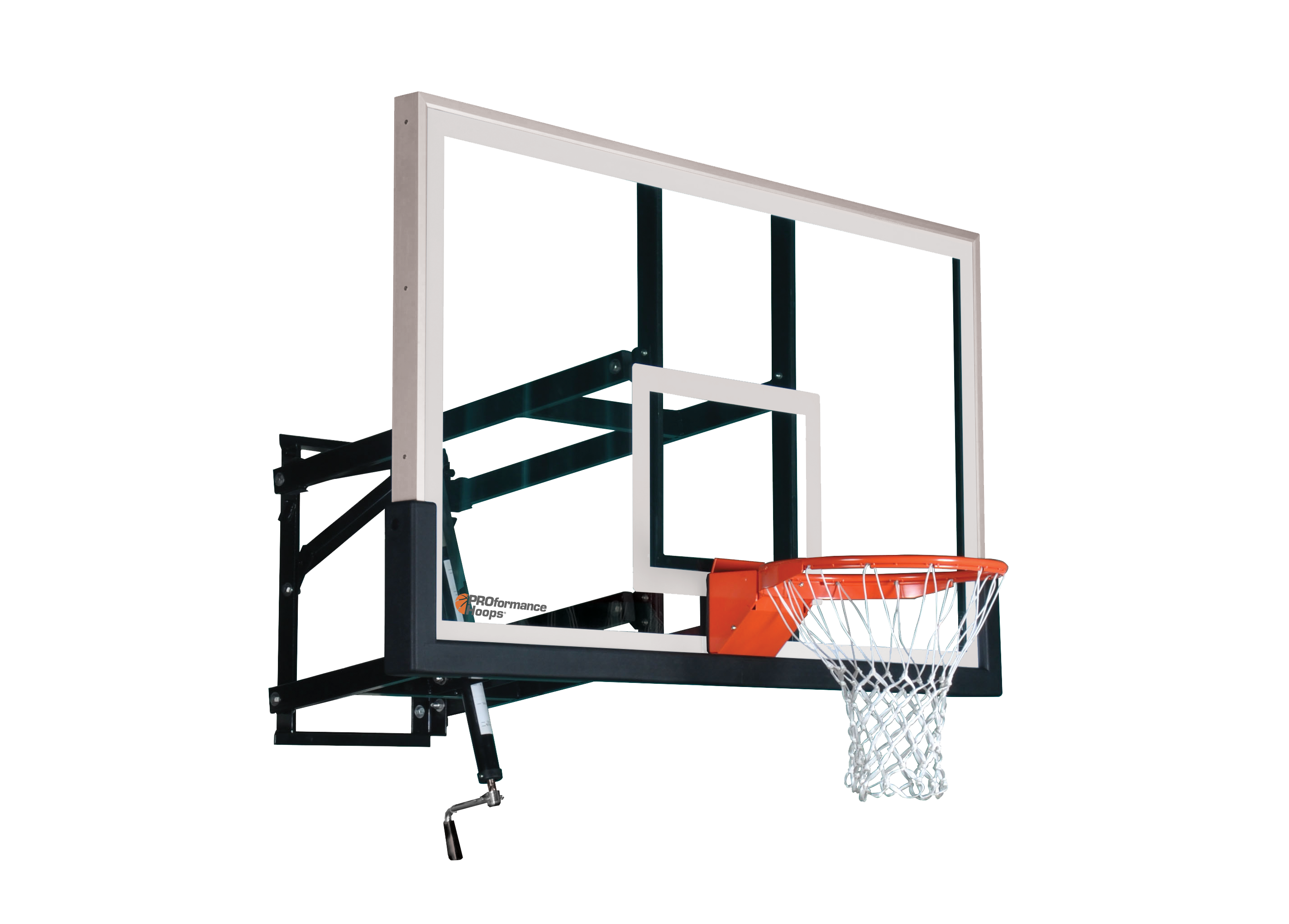 Backboard breaking basketball clipart banner royalty free download Wall Mount Adjustable Basketball Goal - 36