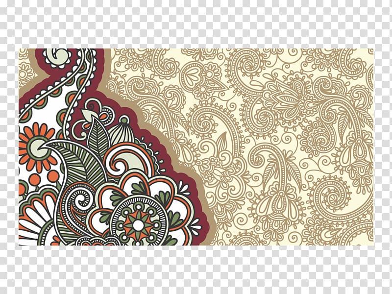 Background batik clipart jpg Illustration of green and red floral art, Cdr Batik CorelDRAW, motif ... jpg