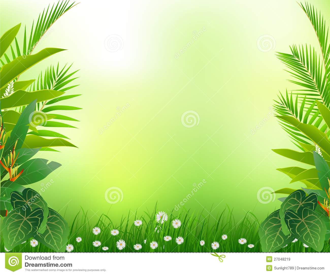 Background cliparts free download graphic library Jungle background clipart free - ClipartFest graphic library
