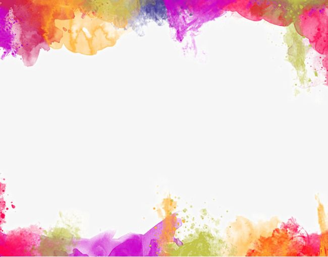 Background color clipart image library download Color Painting Watercolor Splash Background, Color Clipart ... image library download