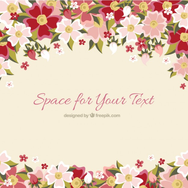 Background floral images picture royalty free stock Floral hand drawn background Vector | Free Download picture royalty free stock