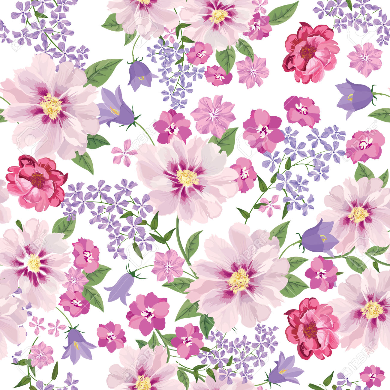 Background floral images vector free stock Flowers for background - ClipartFest vector free stock