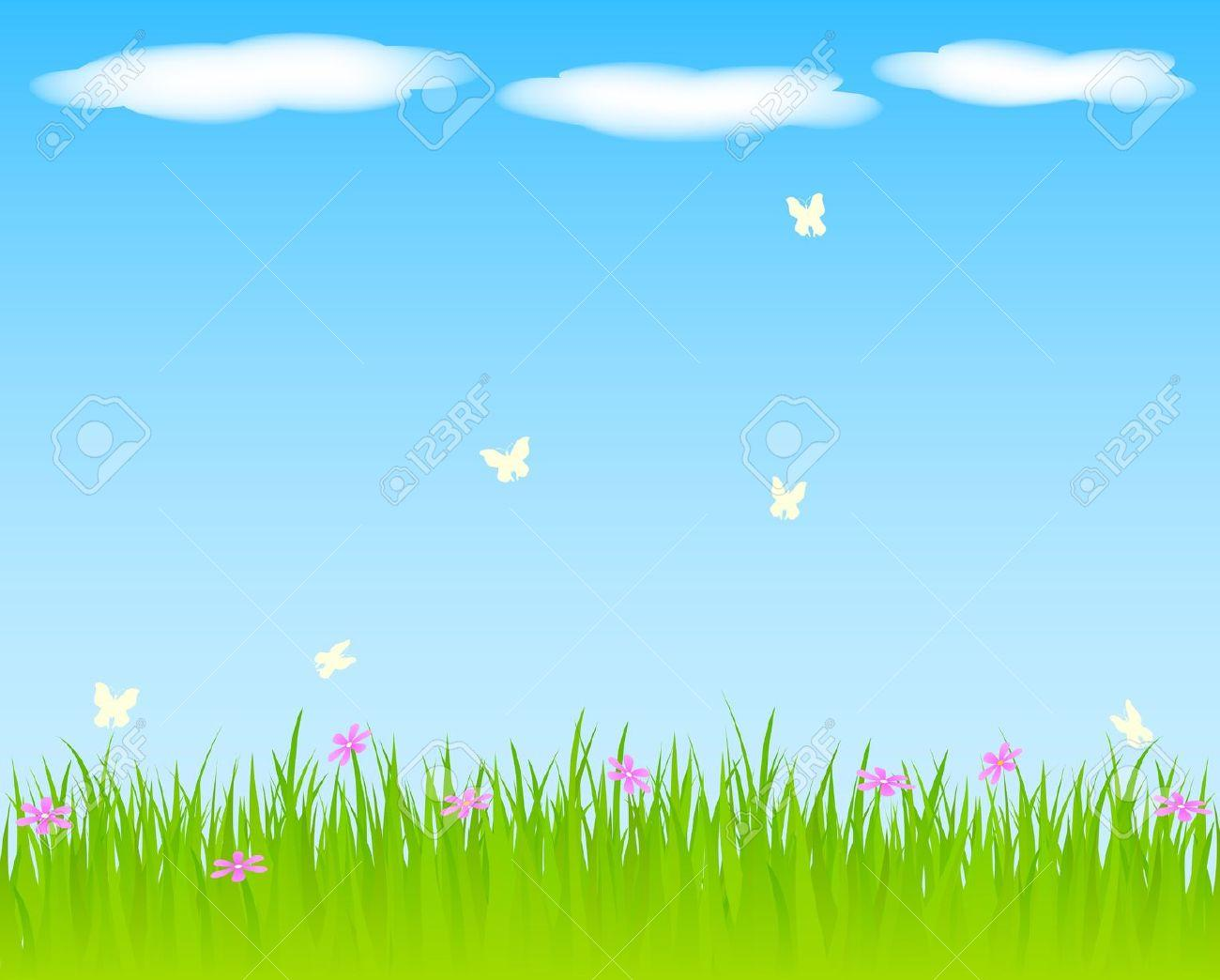 Sunny grass background clipart image library stock Free Spring Background Cliparts, Download Free Clip Art, Free Clip ... image library stock