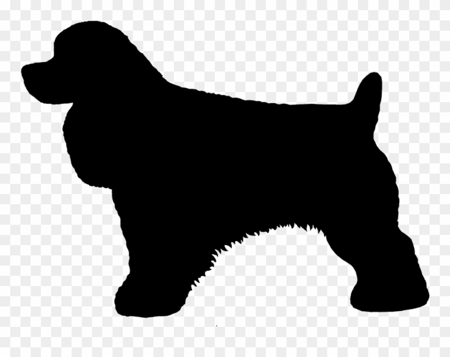 Background less springer spaniel clipart picture free stock Cocker Spaniel Silhouette At Getdrawings - English Springer Spaniel ... picture free stock