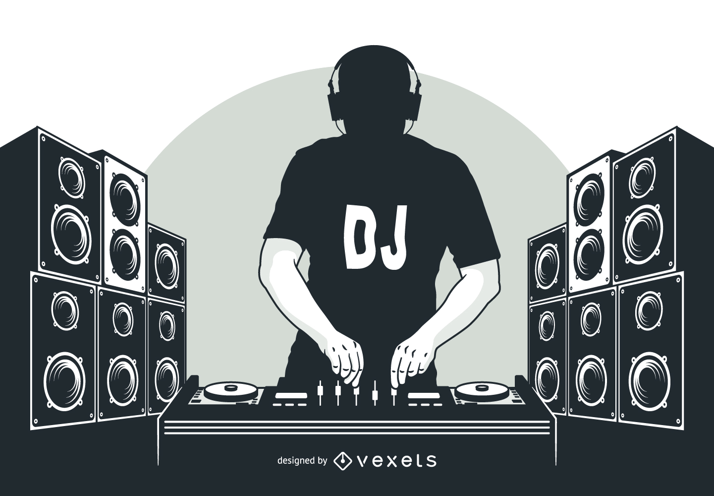 Background logo dj clipart image free download Disc jockey DJ mix Nightclub - DJ PNG Transparent Image png download ... image free download