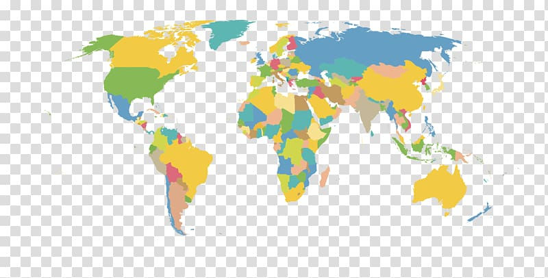 Background map clipart png free library World map , HD material map of the world transparent background PNG ... png free library