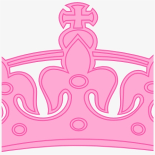 Background royal clipart pink and god banner freeuse Free Clipart Princess - Princess Pink Crown Clipart Png #79858 ... banner freeuse