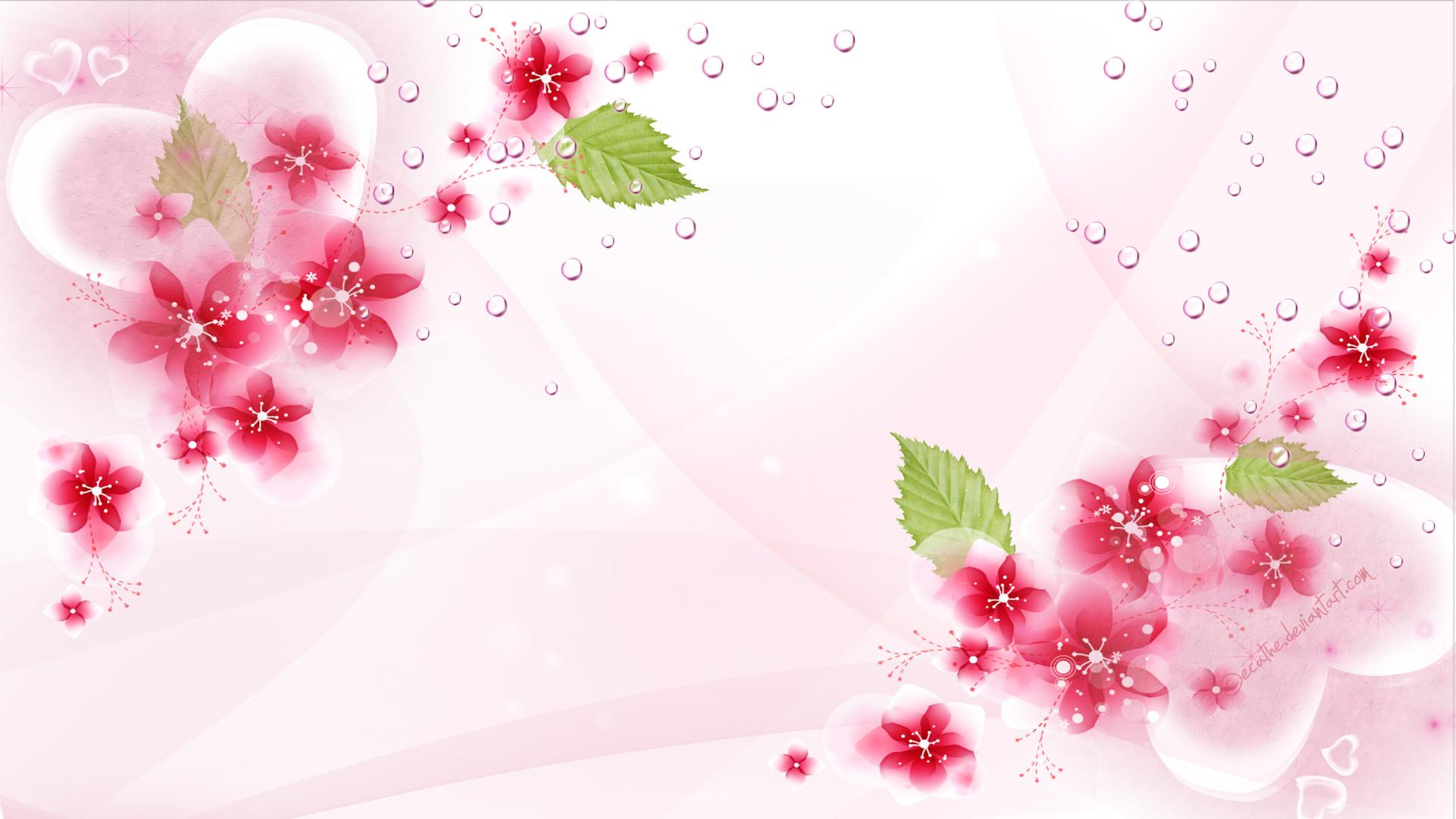 Background wallpaper flowers