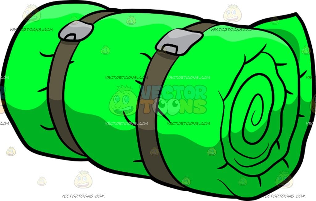 Backpack and bedroll clipart clip art royalty free library Sleeping Bag Clipart | Free download best Sleeping Bag Clipart on ... clip art royalty free library