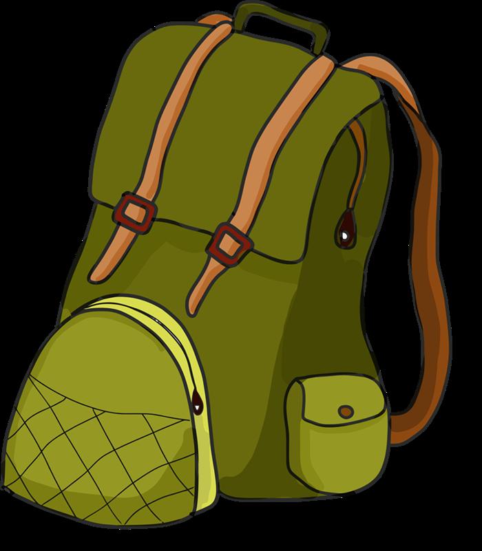 Backpack and bedroll clipart banner transparent library Download Book Bag 5 Backpack Backpack Clip Clipart PNG Free ... banner transparent library