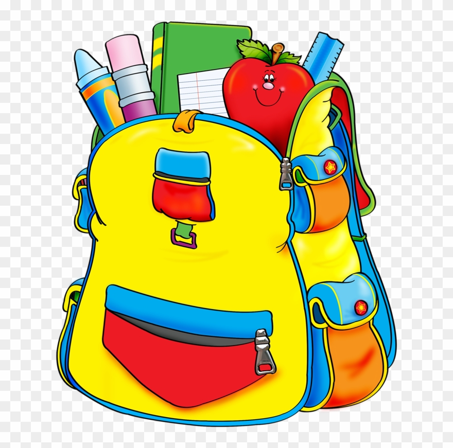 Backpack and materials school clipart picture royalty free download Blue School Backpack Png Clipart - School Supplies Transparent Png ... picture royalty free download