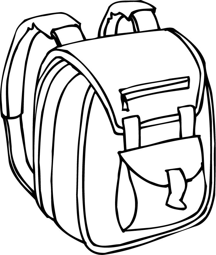 Download clip art on. Free camping backpack clipart black and white