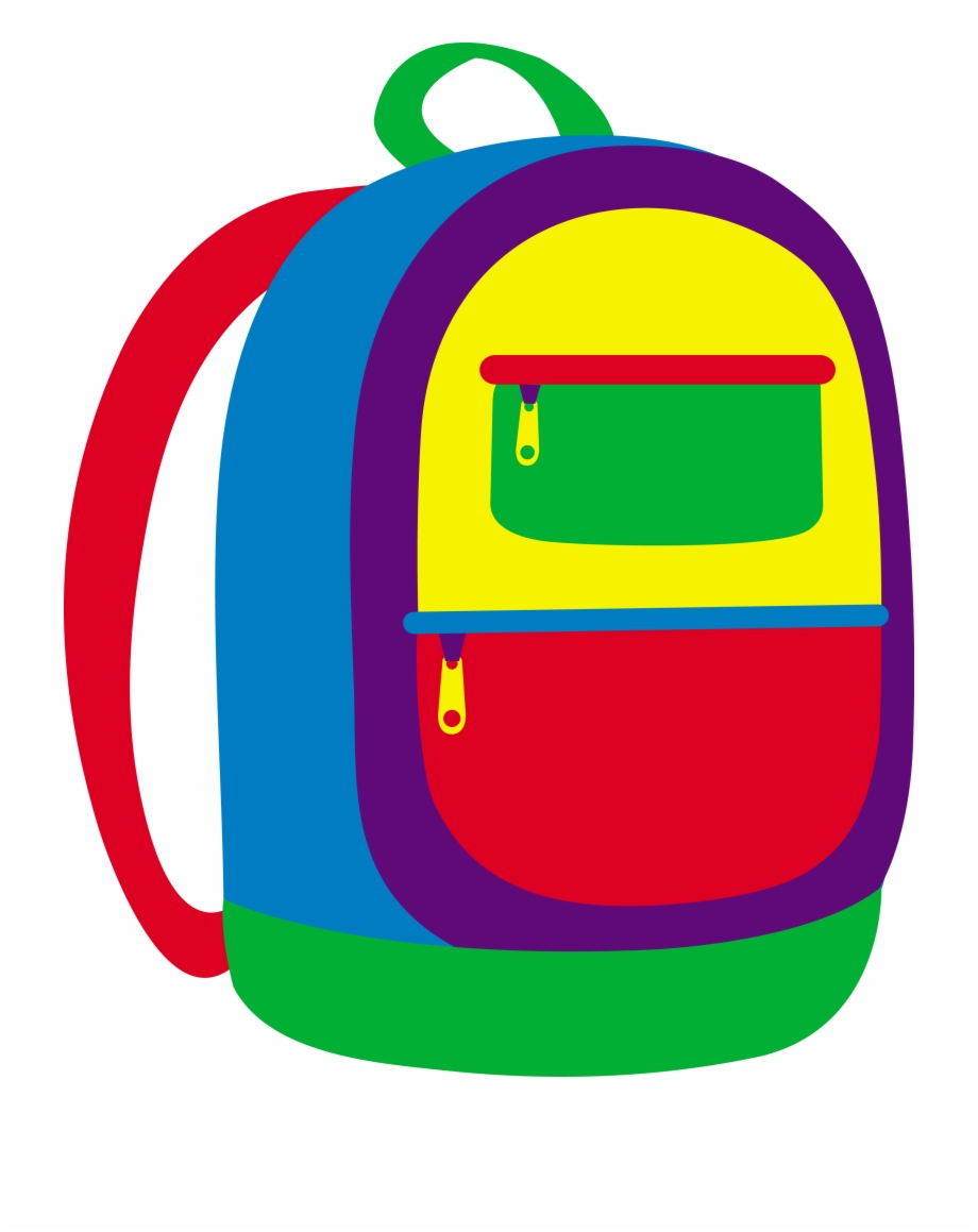 Backpack Clip Art Cliparts And Others Inspiration - Backpack Clipart ... image transparent library