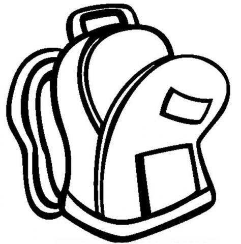Clip-art-backpack-clipart-3.jpg | Springville Junior High School image black and white download