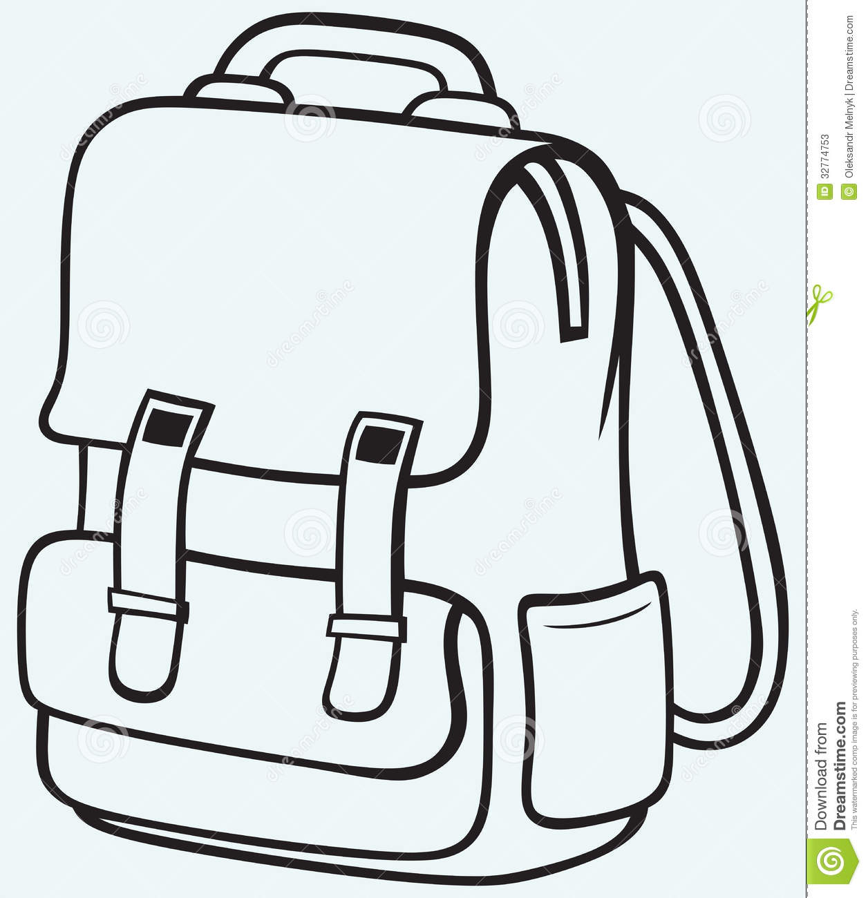 Bag images clipart graphic royalty free stock Kid With Backpack Clipart Black And White | Clipart Panda - Free ... graphic royalty free stock