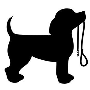 Two boys running with dog on leash clipart jpg royalty free download Beagle puppy dog holding a leash in his mouth … | dog | Dog s… jpg royalty free download