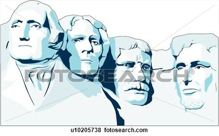 Backside of mount rushmore clipart picture black and white download Mount Rushmore Clip Art | 5th grade art projects | Art, Clip art ... picture black and white download
