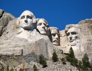 Backside of mount rushmore clipart image transparent stock FREE - Presidents\' Day Printable Clip Art Mini Poster - Mt. Rushmore image transparent stock