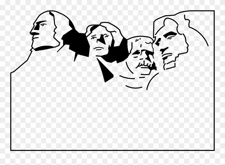 Backside of mount rushmore clipart image transparent library Big Image - Mount Rushmore Clip Art - Png Download (#156895 ... image transparent library