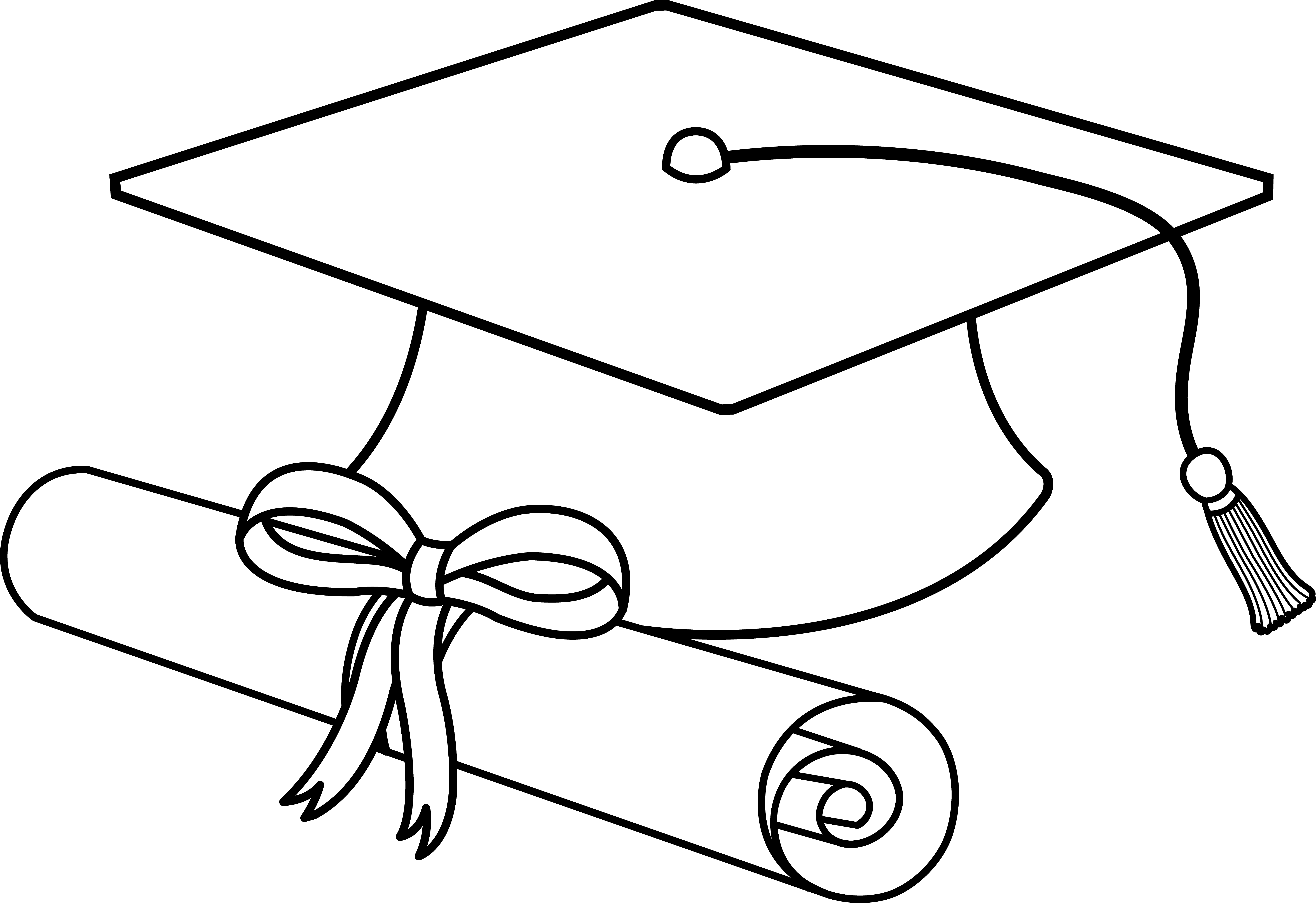Clipart graduation cap and gown scrolls money graphic freeuse Caps Drawing at GetDrawings.com | Free for personal use Caps Drawing ... graphic freeuse
