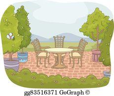 Backyard clipart clip art transparent Backyard Clip Art - Royalty Free - GoGraph clip art transparent