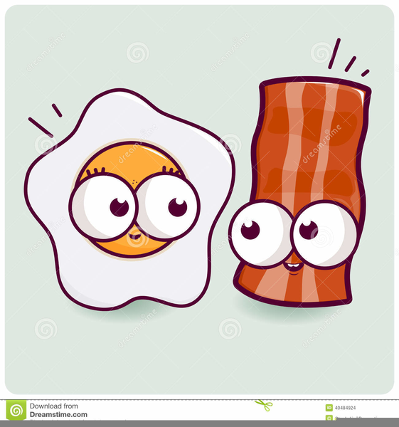 Free Clipart Bacon And Eggs | Free Images at Clker.com - vector clip ... banner black and white