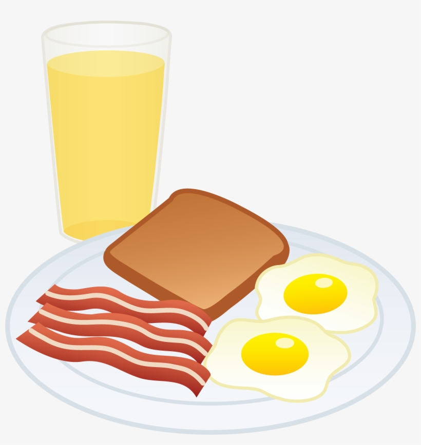 Clipart bacon and eggs picture free stock Clipart Of Breakfast, Eggs And Bacon - Fried Egg PNG Image ... picture free stock