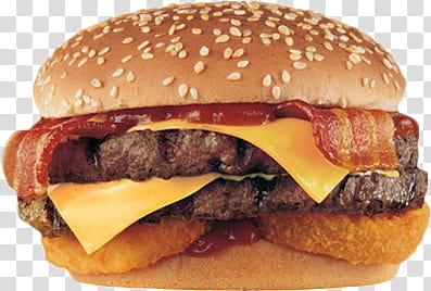 Bacon burger clipart jpg freeuse Food and Drinks s, double patty, bacon, and cheese burger ... jpg freeuse