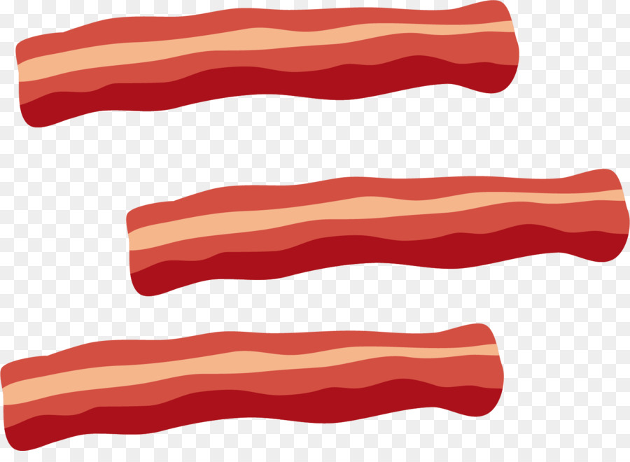 Becon clipart graphic free Red Background clipart - Bacon, Meat, Red, transparent clip art graphic free