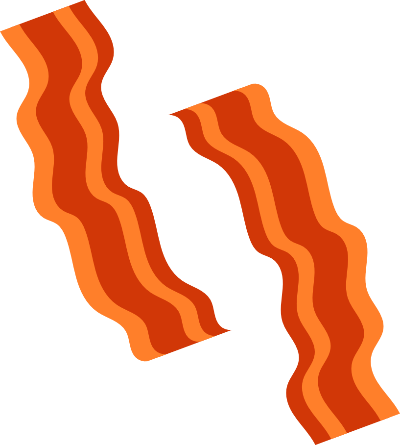 Bacon clipart transparent clip royalty free library Bacon Png | Free download best Bacon Png on ClipArtMag.com clip royalty free library