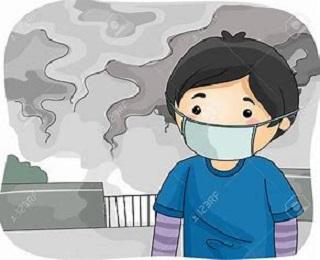 Bad air clipart