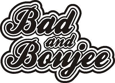 Bad and boujee clipart clip art black and white Bad and Boujee Decal for Sale in Winter Haven, FL - OfferUp clip art black and white