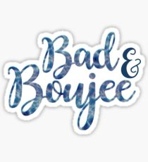 Bad and boujee clipart svg transparent Bad And Boujee Stickers | Redbubble svg transparent