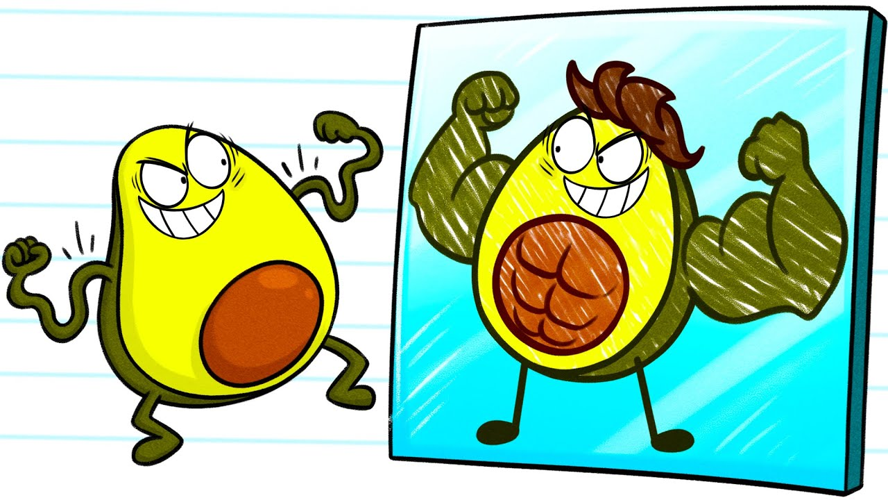 Bad avocado cartoon clipart picture free download PENCILMATE Becomes A VEGETABLES - Cartoons picture free download