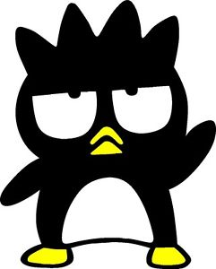 Bad badtz maru clipart graphic library HELLO KITTY BAD BADTZ MARU STICKER DECAL GRAPHIC (10\