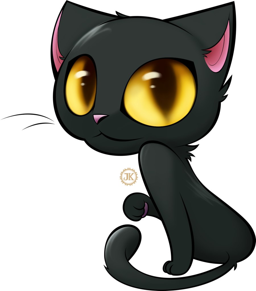 Cute black cat clipart. Cartoon cliparts co templates