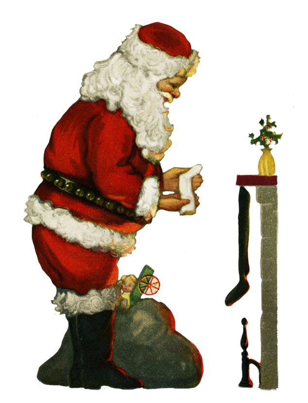 Bad christmas decorations cliparts royalty free library Charming Vintage Christmas Clip Art royalty free library