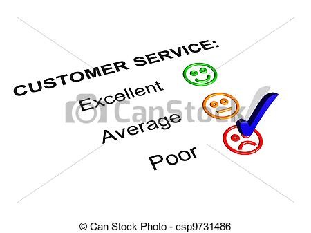 Bad customer service clipart vector library Clip Art of Terrible Customer Service - Business cartoon about ... vector library
