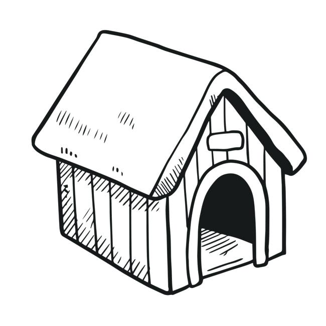 Bad dog dog house clipart svg royalty free stock Dog clipart paintings search result at PaintingValley.com svg royalty free stock