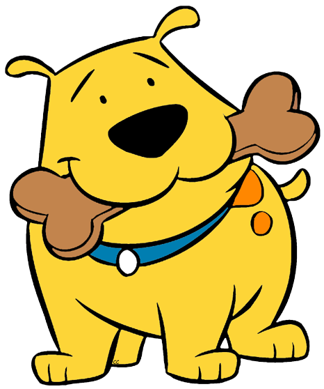 Clifford and friends clipart